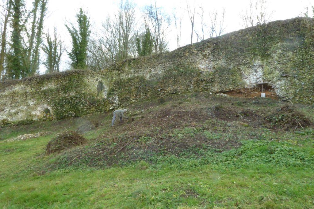 Mur basse-cour