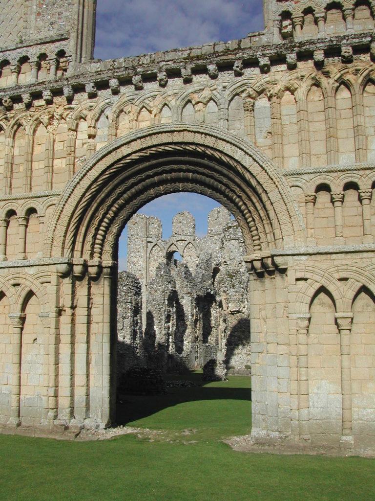 Eglise du prieuré de Castle Acre