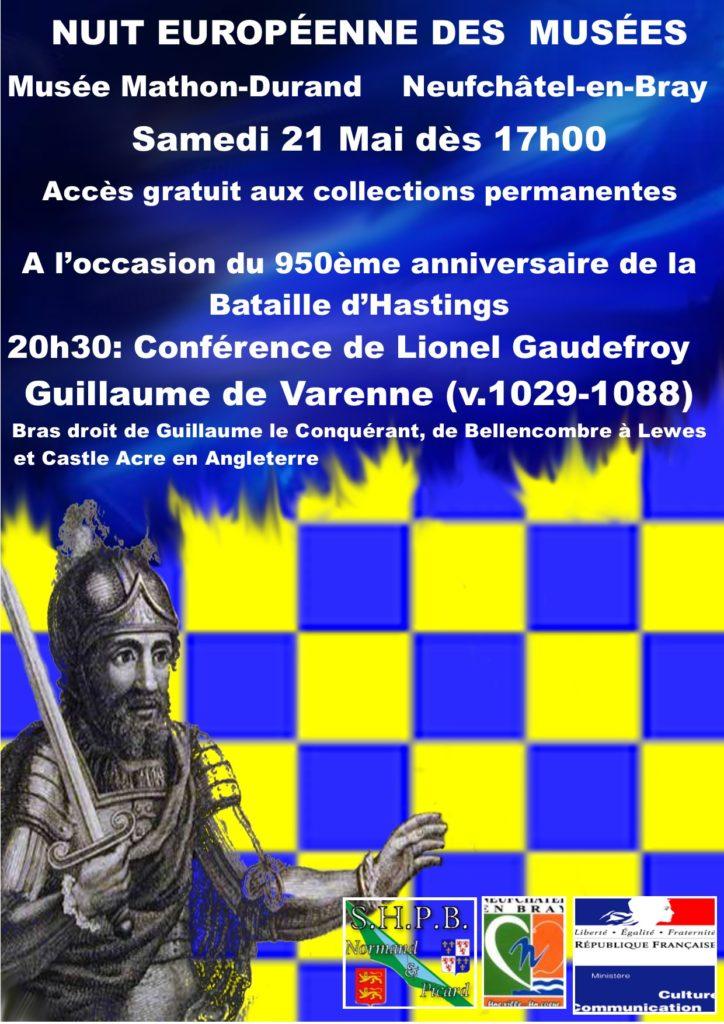 Nuit Européenne des musées - Guillaume de Varenne (v.1029-1088)