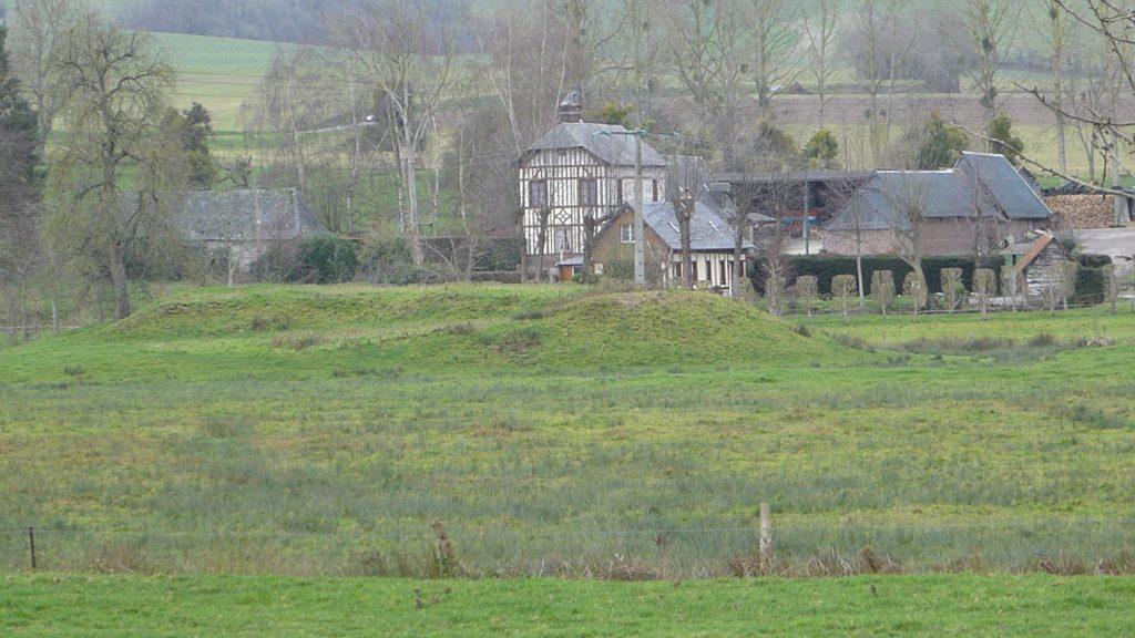 Wanchy, la motte féodale - vallée de l'Eaulne